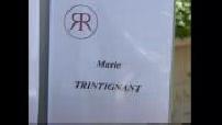 Funeral Marie Trintignant