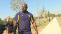 Teddy Riner rencontre les rugbymen de Clermont