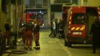 Incendie à Aubervilliers : intervention des secours