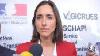 Brune Poirson en visite au Schapi à Toulouse
