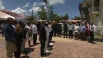 Minute de silence à Saint-Martin, 1 an après Irma