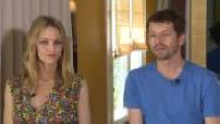 """Interview de Vanessa Paradis Pierre Deladonchamps Camille Cottin """"Photo de famille """""""
