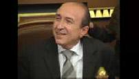 Conseil municipal avec le nouveau maire de Lyon, Gérard Collomb