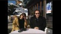 """Interview Irène Jacob et Vincent Perez pour le film """"Par delà les nuages"""""""