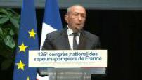 Discours de Gérard Collomb au congrès national des sapeurs pompiers de France