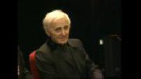 Charles Aznavour au Musée Grévin