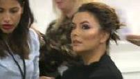 "Fashion Show Backstage ""L'Oreal"" with Eva Longoria"