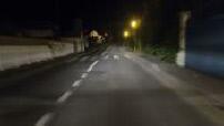 night camera mounted on main road
