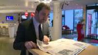 Régionales 20151er tour Christophe Castaner ,candidat PS en PACA, se retire pour le 2nd tour