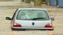 Inondations dans l'Aude : illustrations des dégâts