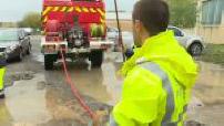 Inondations dans l'Aude : nettoyage