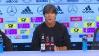 Conférence de presse de Joachim Löw et Didier Deschamps après le match Allemagne / France