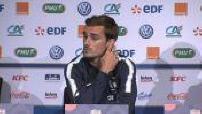 Ligue des Nations : conférence de presse de Didier Deschamps et Antoine Griezman