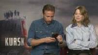 """Interview de Matthias Schoenaerts et Léa Seydoux """"Kursk"""""""