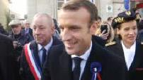 Centenaire 1ère guerre mondiale : Emmanuel Macron aux Eparges