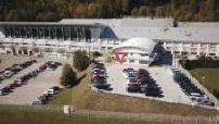 Vue aérienne par drone usine Girod