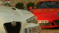 Match Porsche 911 GT3 Alfa Giulia Quadrifoglio Verde