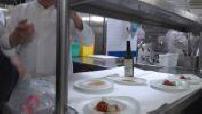 "Thierry Marx dans son restaurant ""Le Mandarin Oriental"""