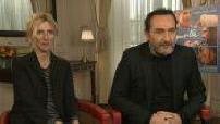 """Interview de Sandrine Kiberlain Gilles Lellouche...""""Pupille"""""""