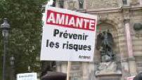 Manifestation of asbestos victims in Paris