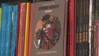 Illustrations d'une librairie de bandes dessinées / ITW de Christophe André