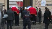 Explosion à Paris : cérémonie d'hommage aux 2 pompiers décédés