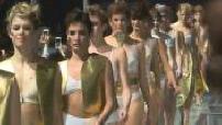"""Fashion / Lingerie Fashion Show parade """"Lingerie Rocks"""" in Paris"""