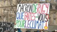 Ecologie : des milliers de Français marchent pour le climat