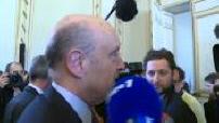 Réactions à la démission de Juppé de Bordeaux