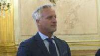 Intervention de David Ginola à l'Assemblée Nationale