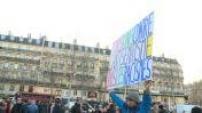 Unité nationale pour la manifestation contre l'antisémistime