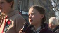 Greta Thunberg et les jeunes marchent pour le climat à Paris