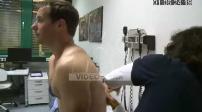 Visite médicale de Thomas Pesquet à l'ESA
