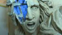 Restauration des statues de l'Arc de Triomphe