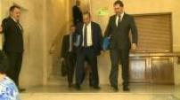 Arrivée de Christophe Castaner devant le Sénat