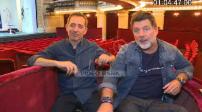 """Interview de Gad Elmaleh et Philippe Lellouche pour la pièce de théâtre """"L'invitation"""""""
