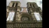 Procession à Notre Dame pour l'Assomption