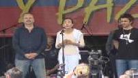 Concert de soutien aux otages des Farc le jour de la fête de l'indépendance colombienne