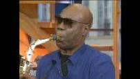 Saxophonist and musician Manu Dibango