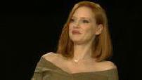 """X-Men : Dark Phoenix"""" : ITW (junket) Jessica Chastain and Sophie Turner"""