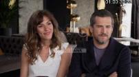 """Junket: Interviews Guillaume Canet and Doria Tillier """"La Belle Epoque"""""""