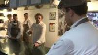 "Gastronomy: Arnaud Donckele in restaurant kitchens ""The Golden Wave"" part 2"