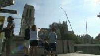 Status report on the work of Notre Dame de Paris