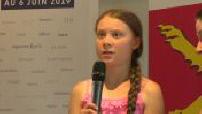 Greta Thunberg récompensée pour son engagement partie 3