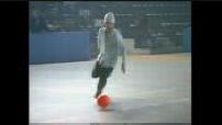 Jay Kay plays football before concert / concert FleshQuartet