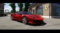 Nouveauté : la Ferrari 488 Pista