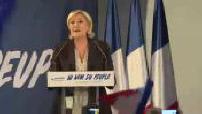 Meeting of Marine Le Pen in Arcis-sur-Aube (part 1)
