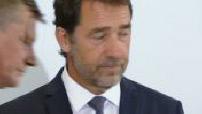 Conférence de presse de Christophe Castaner sur le dispositf de sécurité du G7 1/2