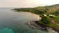 Drone aerial views of Sao Tomé