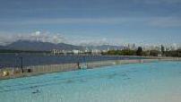 Piscine Kitsilano à Vancouver